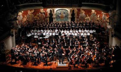 The OCM and the Orfeó Català perform Beethoven's Ninth at the Palau de la Música