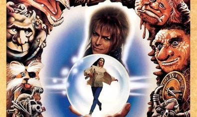Cartel de 'Labyrinth', uno de los filmes que se podrán ver en el ciclo dedicado a David Bowie