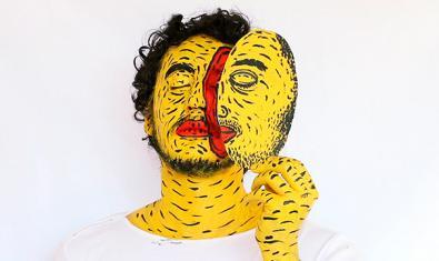 Fotografia de Ricardo Muñoz a l'exposició col·lectiva 'L'altre ubic. Migracions del cos fragmentat', que, en el marc del festival Panoràmic, es pot visitar a l'Arts Santa Mònica fins al 22 de novembre