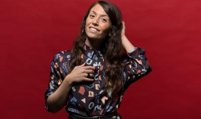 Imatge promocional de la cantant Laura Milazzo