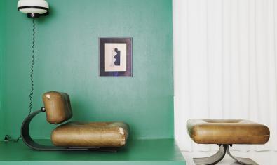 Un dels dissenys de Niemeyer presents a l'exposició