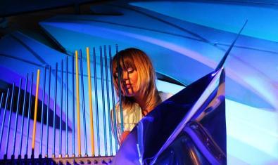 La exploradora de sonidos Lenka Morávková