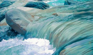 Imatge d'un riu