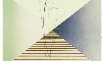 Vista parcial d'una de les obres de León Tutundjian