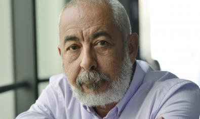 Leonardo Padura, guanyador del sisè Premi Internacional de Novel·la Històrica Barcino. © Iván Giménez