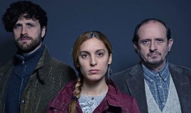 De izquierda a derecha, Roger Batalla, Paula Sunyer y Ramon Vila