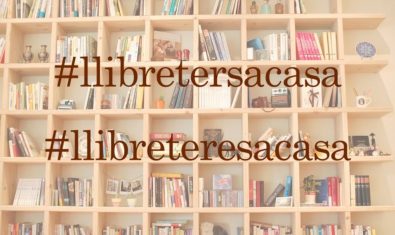Llibreters a Casa recommends readings for confinement on Twitter