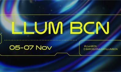 Imatge promocional del Festival d'Arts Lumíniques Llum BCN 2021