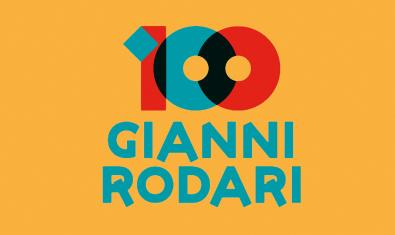 Cartell commemoratiu del centenari Rodari.