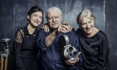 D'esquerra a dreta, Mar Ulldemolins, Mario Gas i Serena Vergano