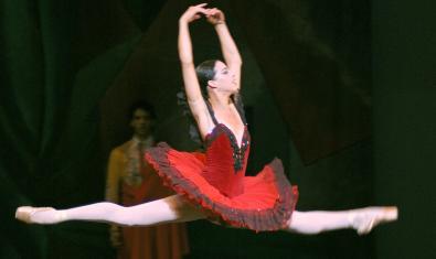 Una escena de 'Don Quijote' dentro del espectáculo 'La Magia de la Danza'
