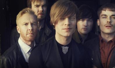 Retrat de grup dels cinc integrants de la banda