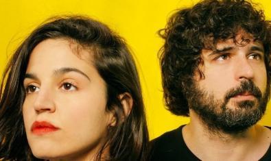 Retrato en primer plano de los integrantes del dúo