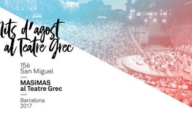 Festival Mas i Mas al Teatre Grec