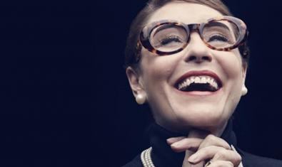 María Bayo caracteritzada com a Maria Callas