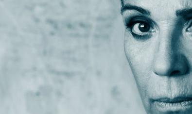 La actriz Emma Vilarasau en el cartel de 'Medea'