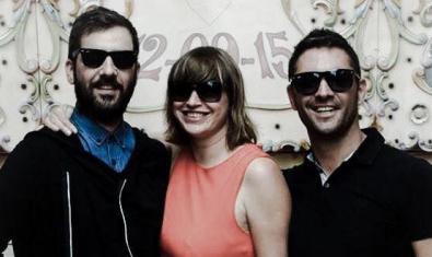 Retrat conjunt d'aquest trio de DJs