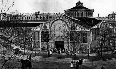 Imatge antiga del mercat de Sant Antoni