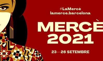 El cartell de la Mercè d'enguany retrata la patrona com una reina mediterrània bella i poderosa