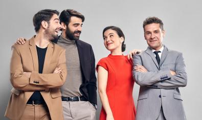 D'esquerra a dreta, Enric Cambray, David Verdaguer, Mar Ulldemolins i Marc Rodríguez