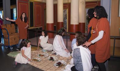 Una visita a una domus romana.