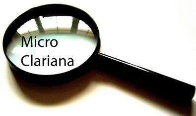 La imatge d'una lupa d'augment serveix per anunciar aquesta proposta de microteatre
