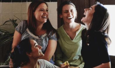 Las cuatro actrices de la trilogía 'Mira'