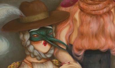 Una de las obras de Miss Van que podremos ver en la exposición
