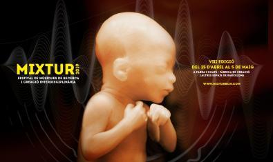 La imagen de un embrión humano en el cartel de la edición de este año del festival