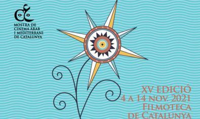 Promotional image of the Mostra de Cinema Àrab i Mediterrani de Catalunya