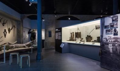 Imagen de la exposición del MUEC 'Ikunde', que ahora se podrá revisitar en Internet