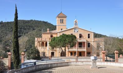 Vil·la Joana, una de las sedes del Museu d'Història de Barcelona (MUHBA)