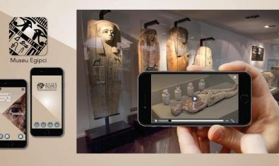El Museu Egipci de Barcelona a través del mòbil