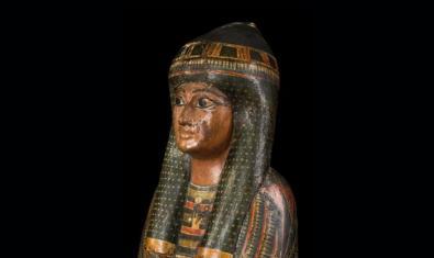 Una de las muchas piezas que encontraréis en el Museu Egipci de Barcelona