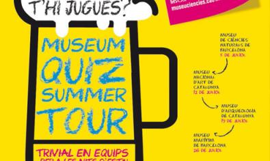 Cartel del Museum Quiz Summer Tour