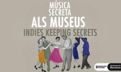 Imagen gráfica del ciclo Música Secreta en los Museos
