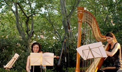 Uno de los conciertos del ciclo 'Música en los parques' de una edición anterior