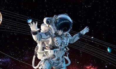 Imatge d'un astronauta