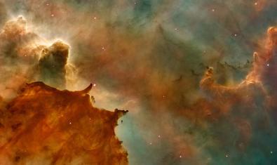 Imagen de una nebulosa