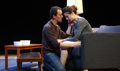 Roger Casamajor y Alba Pujol en 'Nerium Park'