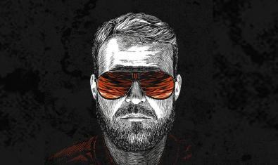 Dibujo de George Gold alma de este proyecto de música electrónica