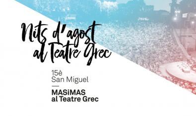 Nits d'Agost al Teatre Grec
