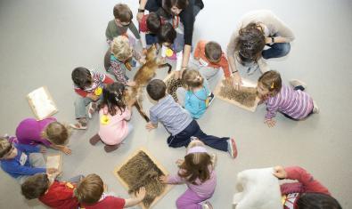 Una activitat per a nens i nenes de 0 a 6 anys.
