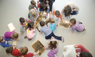 Una actividad para niños y niñas de 0 a 6 años.