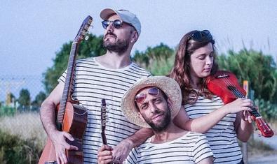 El trio d'intèrprets de 'No cal anar a l'Havana'