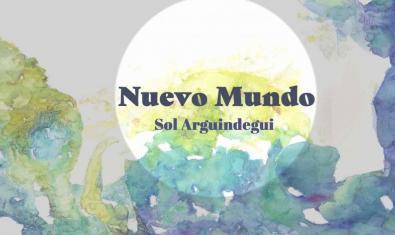 Uno de los paisajes con objetos salidos del mar de la artista Sol Arguindegui