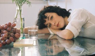 Núria Graham en la portada de su último álbum