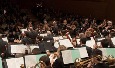 The OBC during a recent concert