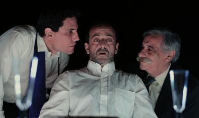 Una escena de la obra 'El sopar', de la compañía Los Sueños de Fausto