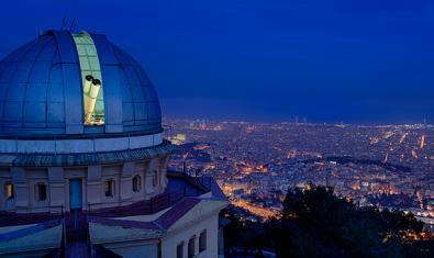 Imatge de l'Observatori Fabra